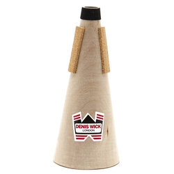 Denis Wick Wooden Straight Mute for D Trumpet or Eb Cornet