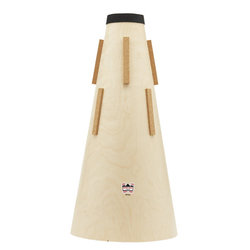 Denis Wick Wooden Straight Mute for EE-Flat Tuba