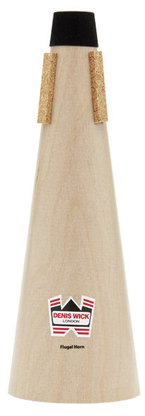 View larger image of Denis Wick Wooden Straight Mute for Flugelhorn