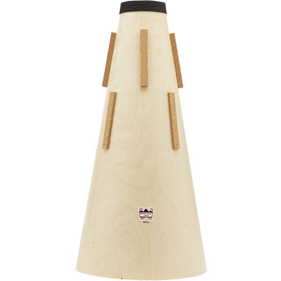 View larger image of Denis Wick Wooden Straight Tuba Mute - BBb