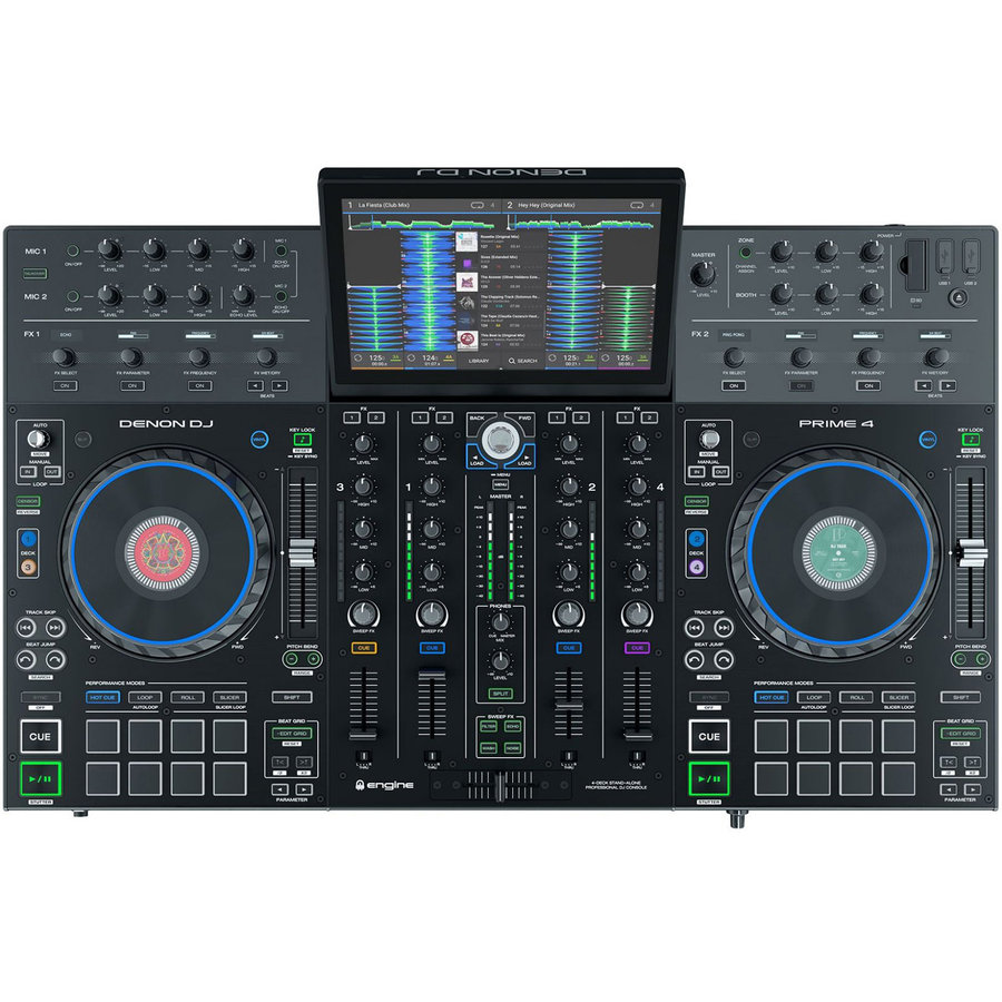 View larger image of Denon DJ Prime 4 Standalone DJ System