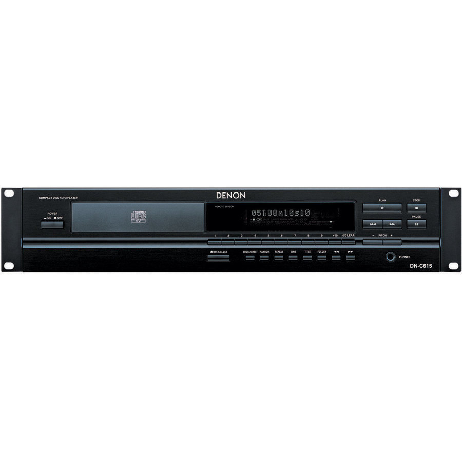 View larger image of Denon DN-C615 Rack Mountable CD Player