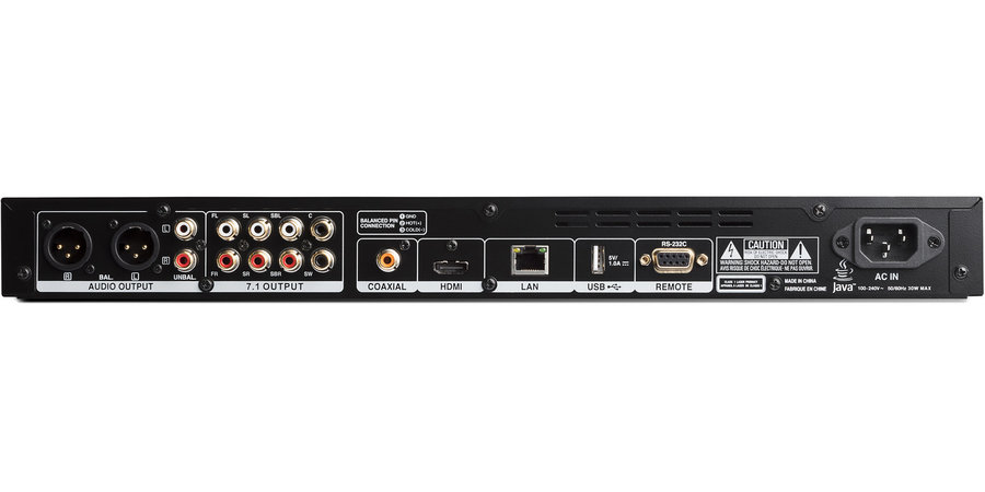 View larger image of Denon Professional DN-500BD MKII Rack Mountable Blu-Ray, DVD and CD/SD/USB Player