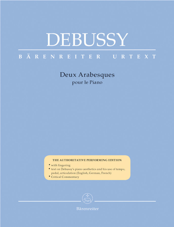 View larger image of Deux Arabesques for Piano - (Debussy)