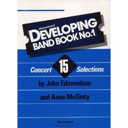 Developing Band Book No.1 - Conductor w/CD