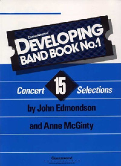 View larger image of Developing Band Book No.1 - Percussion