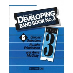 Developing Band Book No.3 - Conductor w/CD