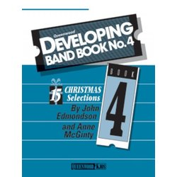 Developing Band Book No.4 - (Christmas) - Conductor w/CD