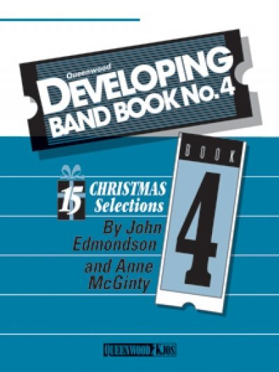 View larger image of Developing Band Book No.4 - (Christmas) - Oboe