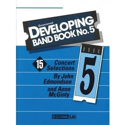 Developing Band Book No.5 - Conductor w/CD