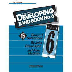 Developing Band Book No.6 - Clarinet 2