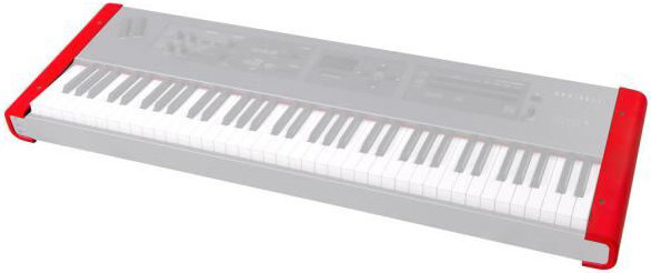 View larger image of Dexibell VIVO Keyboard End Panels - Red