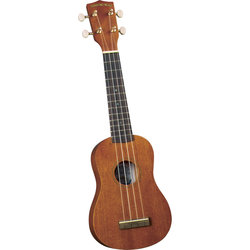 Diamond Head Deluxe Natural Mahogany Soprano Ukulele
