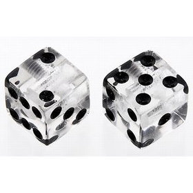 View larger image of Dice Knobs - Clear