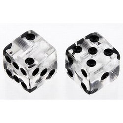 Dice Knobs - Clear