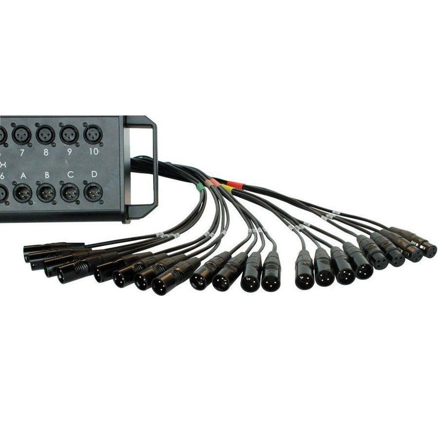 View larger image of Digiflex HE Series 8 Channel XLR Snake - 50'