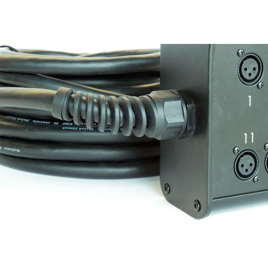View larger image of Digiflex HE Series 8 Channel XLR Snake - 8 Input, 4 Return, 25'