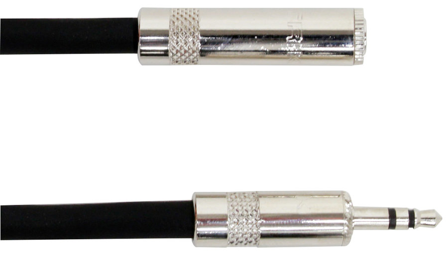 View larger image of Digiflex NKKF Tour Series Extension Cable - 1/8 Mini TRS, 10'