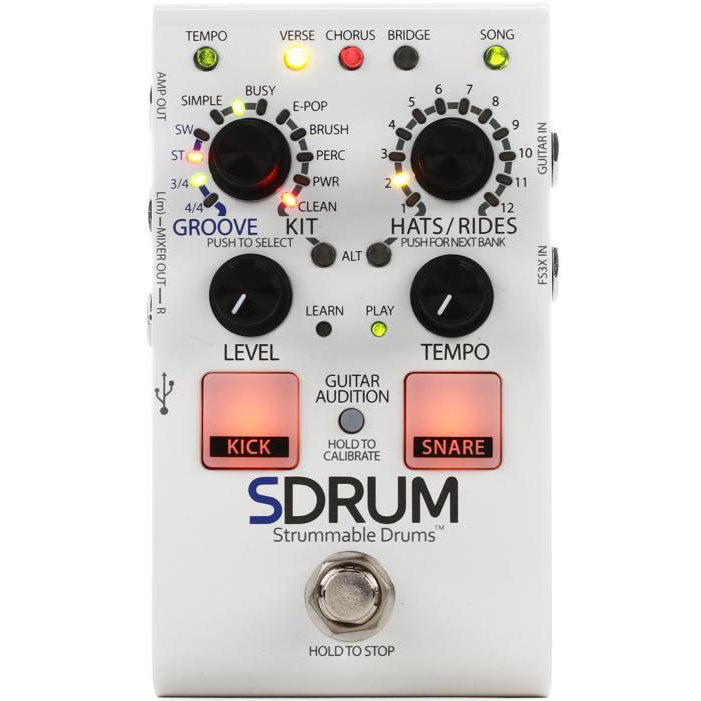 View larger image of DigiTech SDRUM Auto-Drummer Pedal