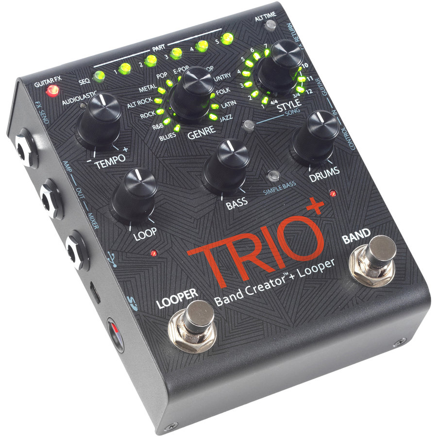 View larger image of DigiTech TRIO+ Band Creator + Looper