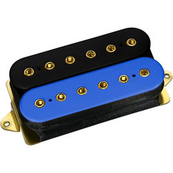 DiMarzio The Humbucker From Hell Neck Pickup - Black/Blue
