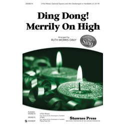 Ding Dong Merrily on High, SAB Parts