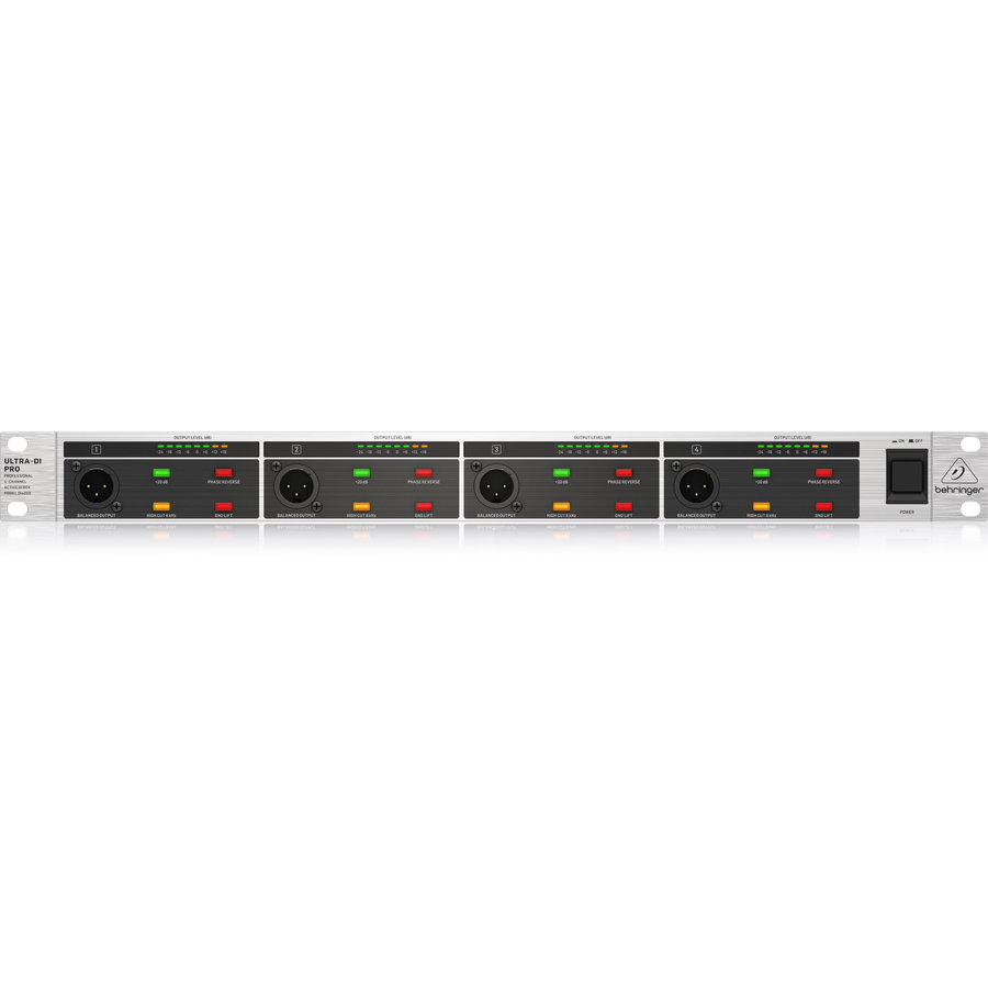 View larger image of  Behringer DI4000 V2 4-Channel Rackmount Active DI-Box
