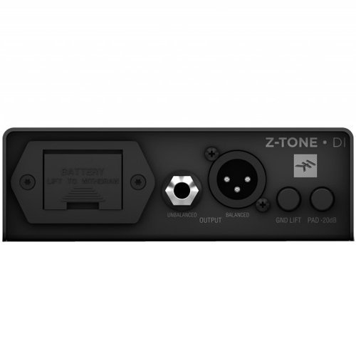 View larger image of IK Multimedia Z-TONE DI Instrument Preamp and Active DI Box