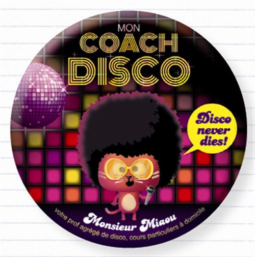 View larger image of Disco Coach Magnet