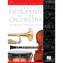 Discover the Instruments of the Orchestra - 24 Posters