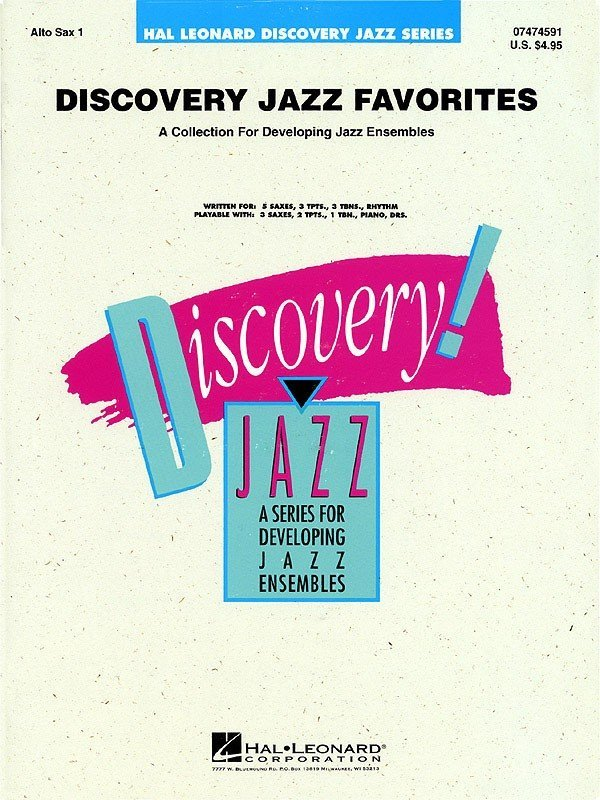 View larger image of Discovery Jazz Favourites - Alto Sax 1