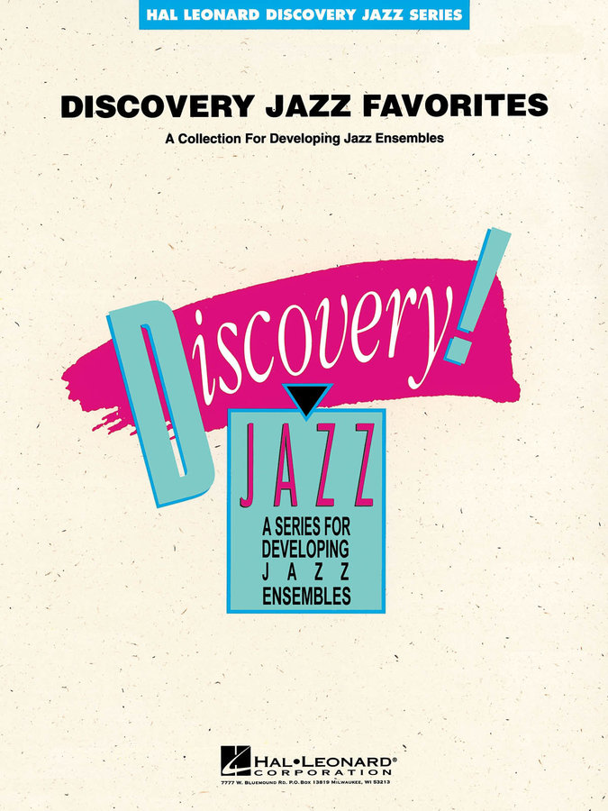 View larger image of Discovery Jazz Favourites - Tenor Sax 2