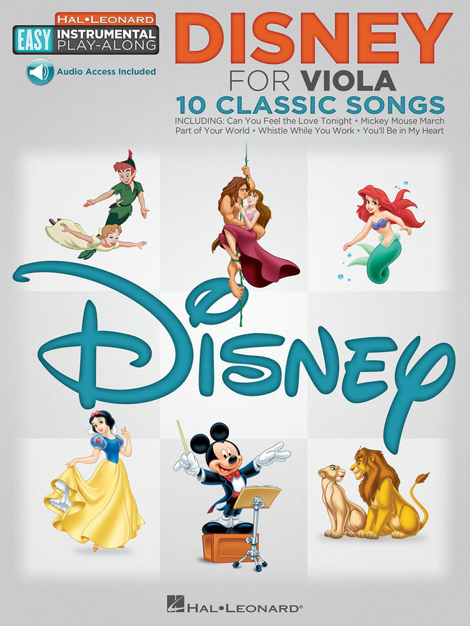 View larger image of Disney Easy Instrumental Play Along - Viola w/Online Audio