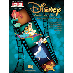 Disney Movie Favorites - 9 Hits Arranged for Recorder Solo or Duet