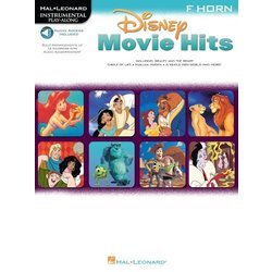 Disney Movie Hits For F Horn - w/Online Audio