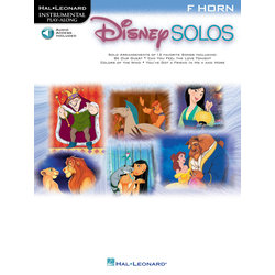 Disney Solos For F Horn - w/Online Audio