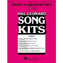 Disney's Greatest Hits (Song Kit #40), Unison/2PT Parts