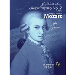 Divertimento No.2 (Mozart) - Guitar Trio