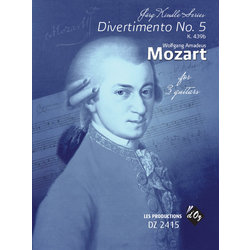 Divertimento No.5 (Mozart) - Guitar Trio