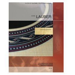 Divertissement (Lauber) - Guitar & Flute Duet