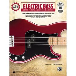 DiY (Do it Yourself) Electric Bass w/Online Video/Audio