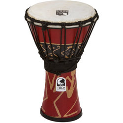 """Toca Freestyle Djembe - 7"""", Bali Red"""