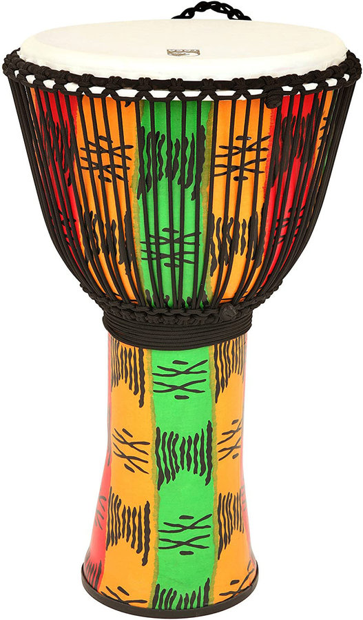"""View larger image of Toca FreeStyle II Rope Tuned Djembe - 12"""", Spirit"""