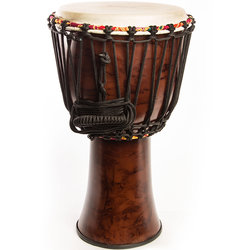 Tycoon Fibreglass Rope-Tuned Djembe - African