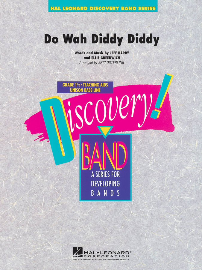 View larger image of Do Wah Diddy Diddy - Score & Parts, Grade 1.5