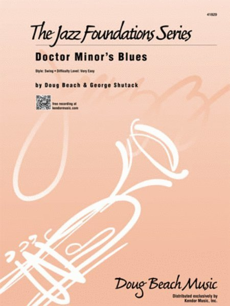 View larger image of Doctor Minor's Blues - Score & Parts, Very Easy