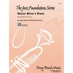 Doctor Minor's Blues - Score & Parts, Very Easy
