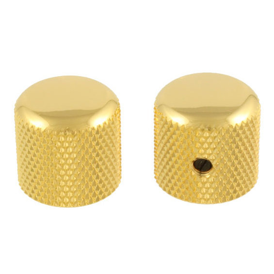 View larger image of Dome Knobs - Gold