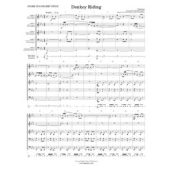 Donkey Riding - Flex Woodwind Ensemble