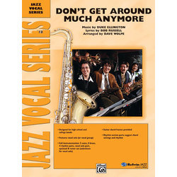 Don't Get Around Much Anymore - Score & Parts, Grade 4
